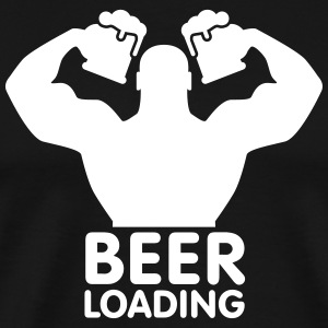 Beer loading Tee shirts - T-shirt Premium Homme