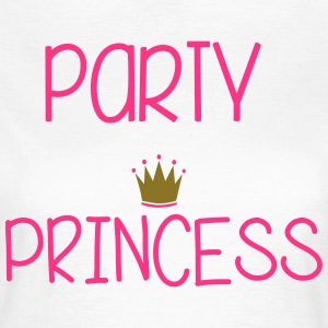 Party Princess T-shirts - Dame-T-shirt