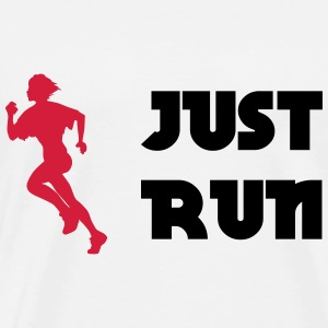Just run Tee shirts - T-shirt Premium Homme