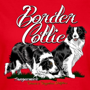 border_collie T-shirts - Vrouwen T-shirt