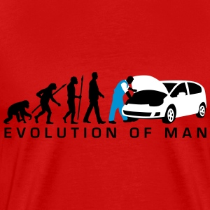 evolution_kfz_mechaniker_122013_a_3c_2 T-Shirts - Männer Premium T-Shirt