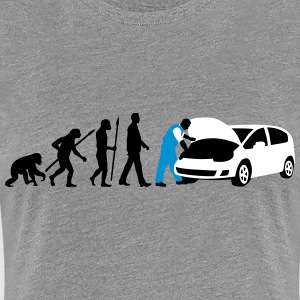 evolution_kfz_mechaniker_122013_b_3c T-Shirts - Frauen Premium T-Shirt