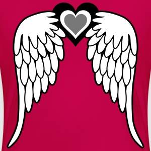 Angel Wings Tee shirts - T-shirt Premium Femme