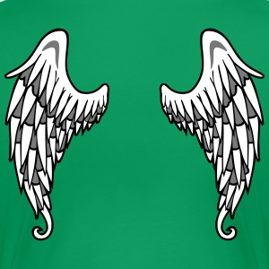 Angel Wings T-Shirts - Frauen Premium T-Shirt