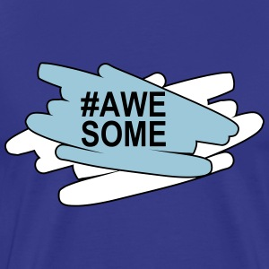 Awesome T-shirts - Herre premium T-shirt