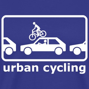 urban cycling T-shirts - Mannen Premium T-shirt