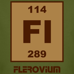 Flerovium (Fl) (element 114) - Men's Organic T-shirt