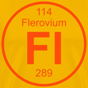 Flerovium (Fl) (element 114) - Men's Premium T-Shirt