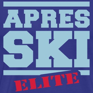 after ski elit T-shirts - Premium-T-shirt herr