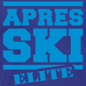 afterski elite T-shirts - Herre premium T-shirt