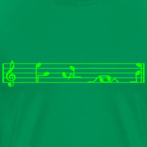 music notes T-Shirts - Men's Premium T-Shirt