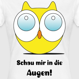 Eule V3 T-Shirts - Frauen T-Shirt