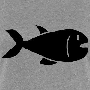 Fish Design T-skjorter - Premium T-skjorte for kvinner