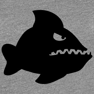 Angry Fish T-Shirts - Frauen Premium T-Shirt