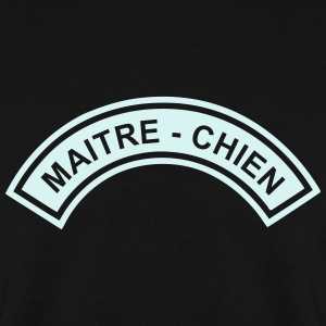 Ecusson Maitre-Chien demilune Sweat-shirts - Sweat-shirt Homme