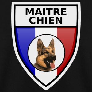 Ecusson maitre-chien berger allemand Sweat-shirts - Sweat-shirt Homme
