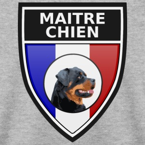 Ecusson noir maitre-chien rottweiller Sweat-shirts - Sweat-shirt Homme