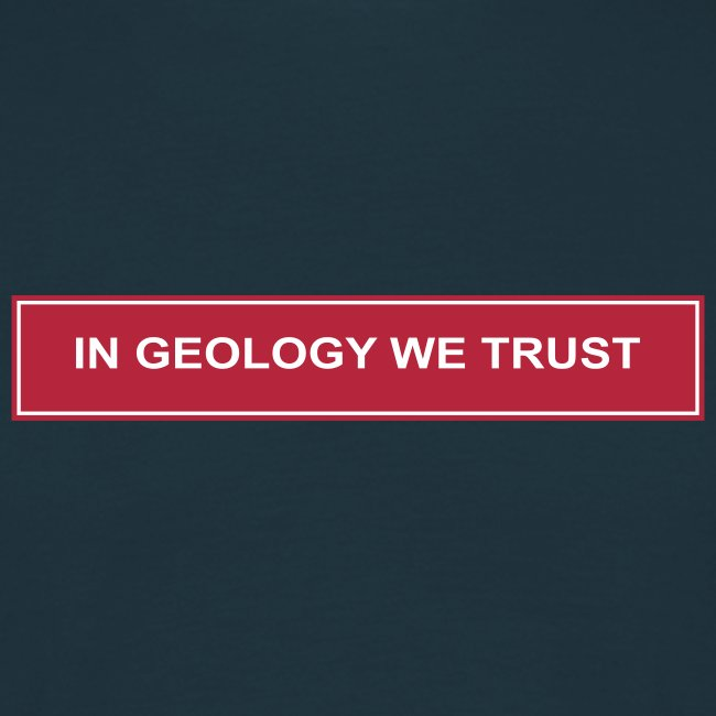 Sweat - In Geology we trust