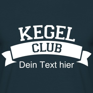 Kegel Club T-Shirts - Männer T-Shirt