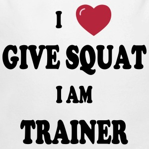 I love give squat Pullover & Hoodies - Baby Bio-Langarm-Body