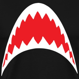 Shark Bite Jaws T-Shirts - Men's Premium T-Shirt