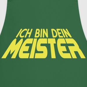 Ich bin dein MEISTER 3D (1c)  Aprons - Cooking Apron