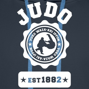 Judo Ippon Sweat-shirts - Sweat-shirt à capuche Premium pour hommes