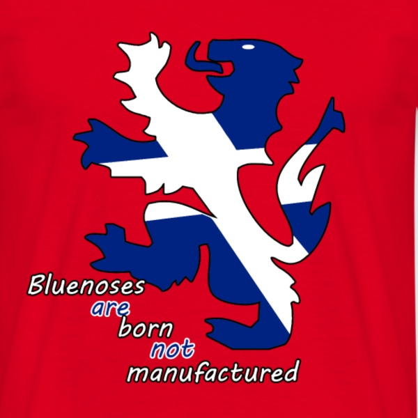 Bluenoses are born m,ens t shirt  - Men's T-Shirt