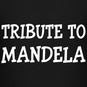 Tribute to Mandela Shirts - Teenager Premium T-shirt