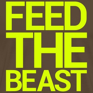 FEED THE BEAST T-Shirts - Men's Premium T-Shirt