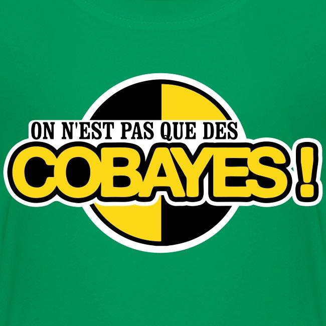 T-Shirt Qualité Enfant Logo Cobayes