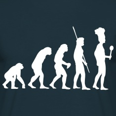Evolution cook T-Shirts