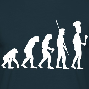 Evolution cook T-Shirts - Men's T-Shirt