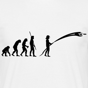 Evolution pompier Tee shirts - T-shirt Homme