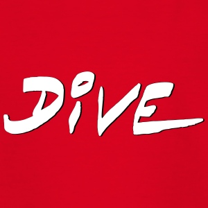Dive Diver Diving Tauchen Taucher Shirt T-Shirts - Teenager T-Shirt