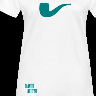 Motiv ~ Slanted – Art Type / White Bio / Woman