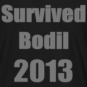 Survived Bodil T-shirts - Herre-T-shirt