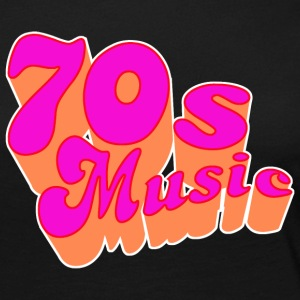 70s Music for Dark Shirts Langarmshirts - Frauen Premium Langarmshirt