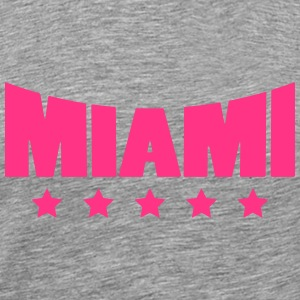 Miami Star Logo T-Shirts - Men's Premium T-Shirt