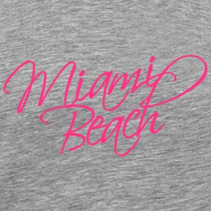 Miami Beach T-Shirts - Men's Premium T-Shirt