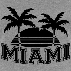 Miami Florida Palms T-Shirts - Women's Premium T-Shirt