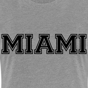Miami T-Shirts - Frauen Premium T-Shirt