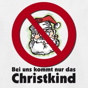 Christkind versus Santa Claus T-Shirts - Teenager T-Shirt