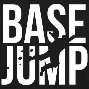 BASE jump T-shirts - Mannen T-shirt