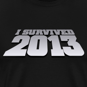 i survived 2013 T-Shirts - Männer Premium T-Shirt