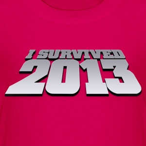 i survived 2013 Skjorter - Premium T-skjorte for tenåringer