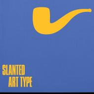 Motiv ~ Slanted – Art Type / Blue Yellow / Totebag