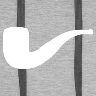 Motiv ~ Slanted – Art Type / Hoodie Grey White / Man