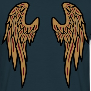 Angel Wings Feather T-Shirts - Männer T-Shirt