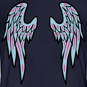 Angel Wings Feather T-shirts - Mannen Bio-T-shirt